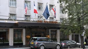 Staff at Marriott hotels in the UK, including the Westbury Mayfair hotel, will be placed on furlough (Dominic Lipinski / PA)