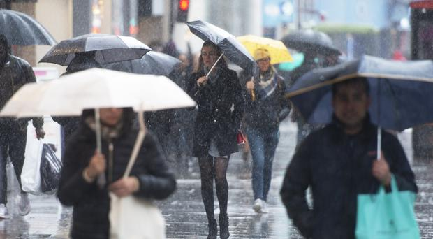 Wind and rain is forecast for much of Boxing Day (David Mirzoeff/PA)
