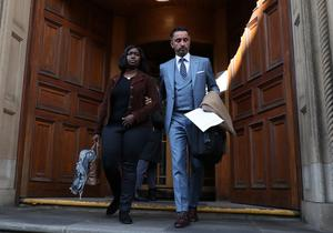Kadijatu Johnson and Aamer Anwar are signatories to the joint statement (Andrew Milligan/PA)