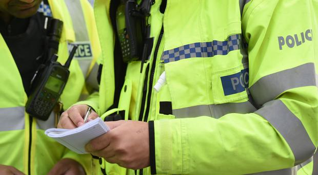 Three people have been arrested after a homemade explosive device was found in a property in Stubbins (Joe Giddens/PA)