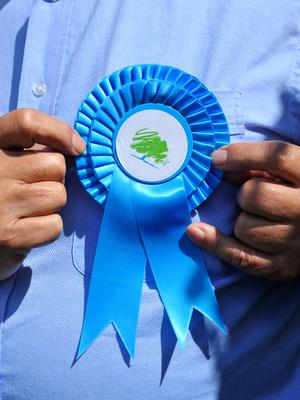 The Conservative Party in Northern Ireland are running four candidates. (Ben Birchall/PA)