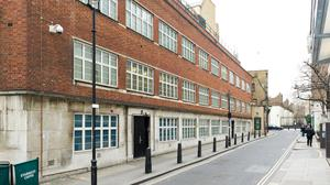 GCHQ's former offices in Palmer Street, Westminster (GCHQ/PA)