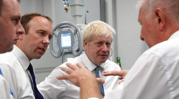 Prime Minister Boris Johnson has said he will produce a plan on social care within the next 12 months (Darren Staples/PA)