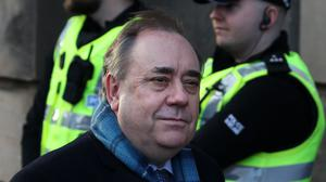 The convener of the committee said she was 'disappointed' Alex Salmond rejected an invitation to give evidence in person next week (Andrew Milligan/PA)