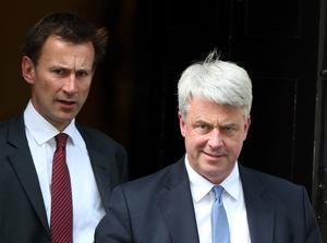 Andrew Lansley's reforms under the coalition Government proved controversial (Steve Parsons/PA)