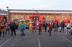 Everyone joined in the fun for a good cause (Royal Mail North Wales and Chester/PA)