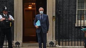 The EU's chief Brexit negotiator, Michel Barnier, said he had a 'useful discussion' with the PM's Europe adviser, David Frost, over dinner at Number 10 (Kirsty O'Connor/PA)