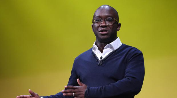 Sam Gyimah during the Lib Dem conference