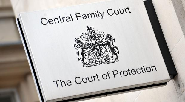 Signage for The Court of Protection and Central Family Court (Nick Ansell/PA)