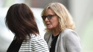 Cherise Lyons, (right) was sentenced for causing the death of 100-year-old Joan Roskilly by careless driving (Joe Giddens/ PA)