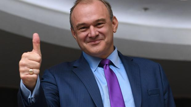 Scottish independence would be 'Brexit 2.0' Sir Ed Davey warned (Stefan Rousseau/PA)