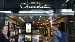 A Hotel Chocolat shop in Victoria, London. Hotel Chocolat said it will create jobs after online growth during the lockdown (Philip Toscano/PA)