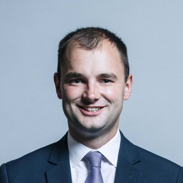 Luke Hall, a junior minister in the Ministry for Housing, Communities and Local Government (Chris McAndrew/UK Parliament/PA)
