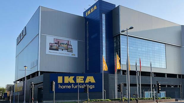 Ikea's store in Coventry (Ikea/PA)