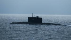 The submarine was heading for the North Sea (Royal Navy/MoD/PA)