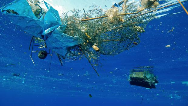 The ban is part of efforts to tackle the problem of plastic pollution. (David Jones/PA Images)