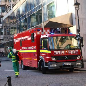 Police think an accelerant was used to start the fire in Deptford High Street