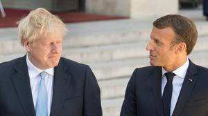 Prime Minister Boris Johnson is to hold talks with French President Emmanuel Macron in Downing Street (Stefan Rousseau/PA)