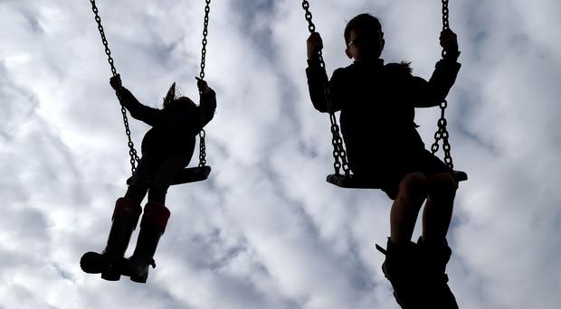 There is a child poverty crisis, a report warns (Gareth Fuller/PA)