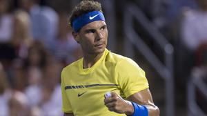 Rafael Nadal is heading back to the top of the rankings (Paul Chiasson/AP)