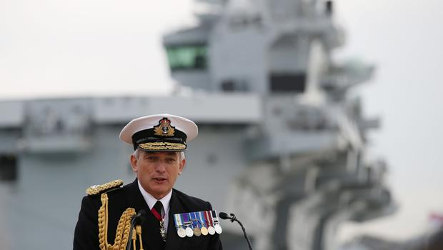 Admiral Sir Philip Jones has warned about the threat posed by 'non-state actors' (Steve Parsons/PA)