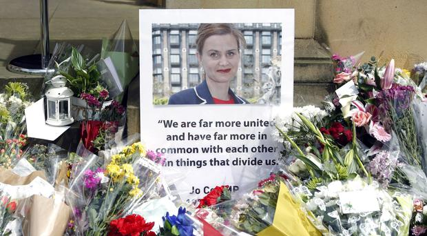 Tributes to murdered Labour MP Jo Cox PA)