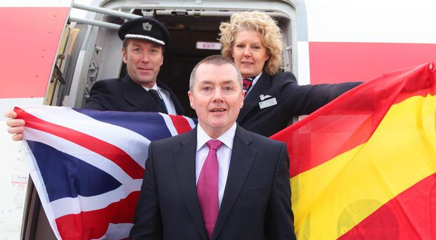 Willie Walsh led the merger of BA and Spanish airline Iberia to form IAG in 2011 (Nick Morrish/PA)