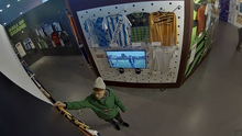 CCTV image of the suspected football shirt thief (Greater Manchester Police/PA)