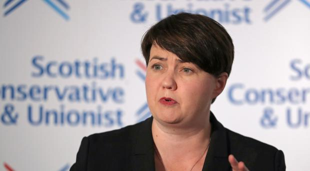 Former Scottish Tory leader Ruth Davidson has hinted at return to politics in later life (Jane Barlow/PA)