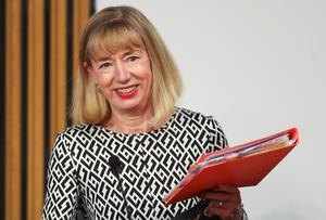 Permanent Secretary Leslie Evans during her second appearance before the Holyrood committee (Russell Cheyne/PA)