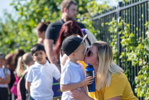 Pupils in Reception, Year 1 and Year 6 have started returning to school (Joe Giddens/PA)