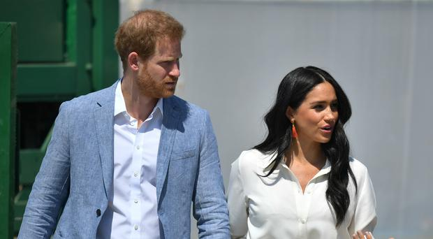 The Duke and Duchess of Sussex will be at the WellChild awards (Dominic Lipinski/PA)