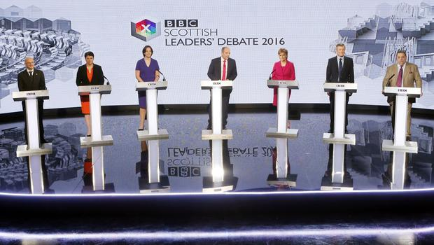 Televised debates have become an increasingly regular feature during election campaigns (Danny Lawson/PA)