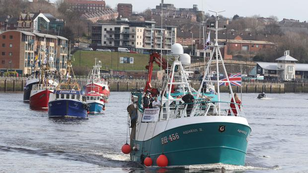 Small boats now have to declare the weight of fish they land – often without scales – using Catch App (Owen Humphreys/PA)
