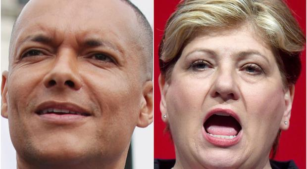 Clive Lewis and Emily Thornberry are bidding to lead Labour (PA)