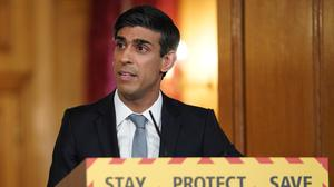 Chancellor Rishi Sunak has promised to help prop up small businesses (Pippa Fowles/10 Downing Street/Crown Copyright/PA)