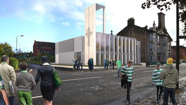 The community hall will be named after Celtic legend Tommy Burns (Archdiocese of Glasgow/PA)