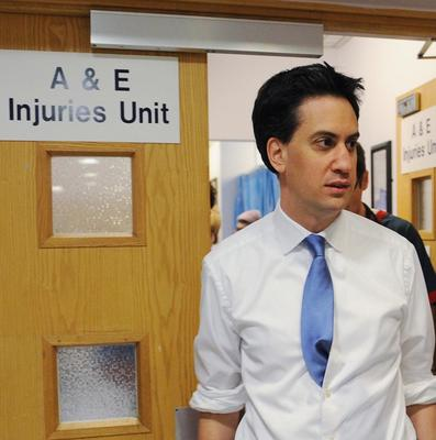 Labour leader Ed Miliband said there were 'growing signs that our NHS is in deep distress'