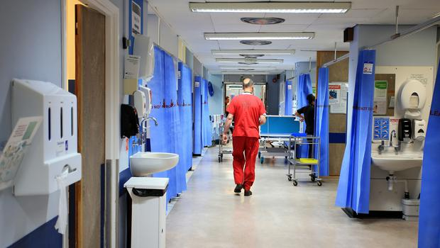 We are spending £637,842 a day in hiring expensive agency nurses and other medical specialists to plug holes in hospital services (stock photo)
