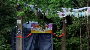 """Police are investigating an """"unexplained"""" death at an event which describes itself as bringing """"kink to the foreground of festival culture"""" (Gareth Fuller/PA)"""