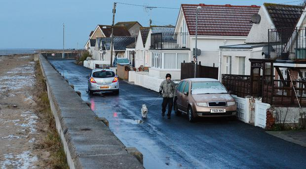 The town of Jaywick is on the Essex coast (PA)