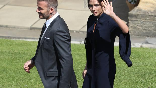 David and Victoria Beckham are on the guestlist (Andrew Milligan/PA)