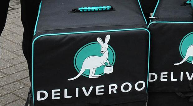 Amazon has sought to buy a minority stake in online food delivery business Deliveroo (Rui Vieira/PA)