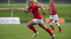 Elli Norkett was the youngest player at the Rugby World Cup in 2013