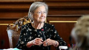 Lady Hale was officially sworn in during a ceremony (John Stillwell/PA)
