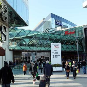 The Westfield Shopping Centre in Stratford