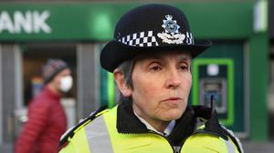 Cressida Dick has told her officers only to use new powers to enforce the coronavirus lockdown as a last resort (Luciana Guerra/PA)
