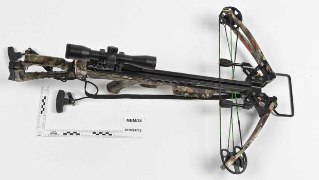 One of the crossbows owned by Ramanodge Unmathallegadoo (Met Police/P{A)