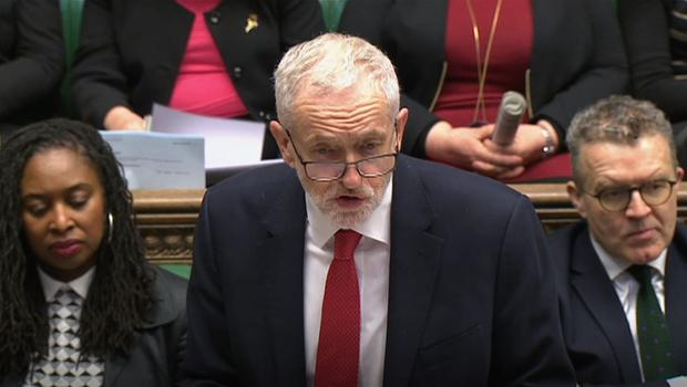 Jeremy Corbyn has warned Theresa May she must make compromises if the talks are to succeed (House of Commons/PA)