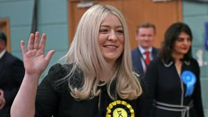 SNP MP Amy Callaghan was rushed to hospital (Jane Barlow/PA)